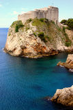 Il castello di Dubrovnik Immagini Stock Libere da Diritti