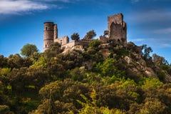 Il castello di Grimaud, Provenza, Francia Immagini Stock