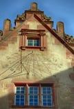 Il castello di Heidelberg è una rovina famosa in Germania e limite di Heidelberg Immagine Stock