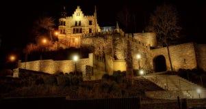 Il castello di Herzogenrath ha guidato immagine stock