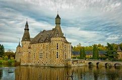 Il castello di Jehay fotografie stock