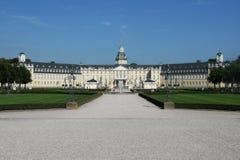 Il castello di Karlsruhe Immagini Stock Libere da Diritti