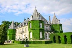 Il castello di La Hulpe Fotografia Stock Libera da Diritti