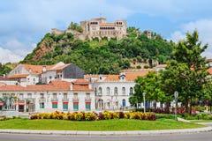 Il castello di Leiria immagine stock libera da diritti