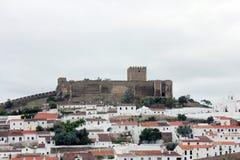 Il castello di Mertola Immagini Stock Libere da Diritti