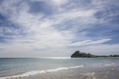 Il castello di Peniscola, in Spagna Fotografia Stock Libera da Diritti