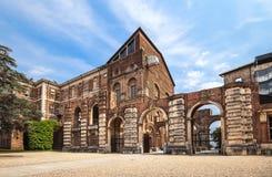 Il castello di Rivoli vicino a Torino, Italia Immagini Stock Libere da Diritti