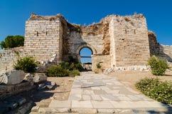Il castello di Selcuk Immagini Stock Libere da Diritti