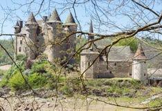 Il castello di Val Fotografia Stock