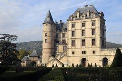 Il castello di Vizille vicino a Grenoble. La Francia Fotografia Stock