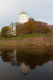 Il castello di Vyborg Fotografia Stock Libera da Diritti