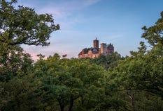 Il castello di Wartburg fotografia stock libera da diritti