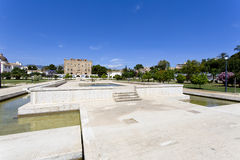 Il castello di Zisa a Palermo, Sicilia L'Italia Fotografie Stock