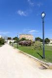 Il castello di Zisa a Palermo, Sicilia L'Italia Fotografia Stock
