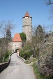 Il castello di ZvÃkov Fotografia Stock