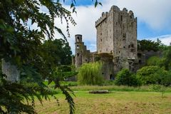 Il castello famoso di lusinga immagine stock libera da diritti