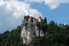Il castello ha sanguinato Fotografie Stock