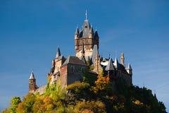 Il castello imperiale in Cochem Fotografia Stock Libera da Diritti