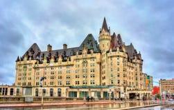 Il castello Laurier di Fairmont in Ottawa, Canada Fotografia Stock