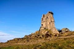 Il castello medievale del poliziotto Mow fotografia stock libera da diritti