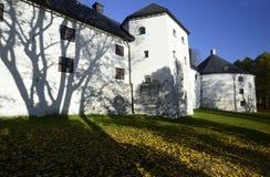 Il castello medievale a Turku in autunno, Finlandia Immagini Stock Libere da Diritti