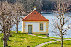 Il castello Moritzburg immagine stock