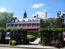 Il castello Ramezay a Montreal Immagine Stock Libera da Diritti