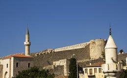 Il castello storico di Cesme Fotografie Stock
