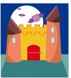 Il castello stregato Fotografia Stock