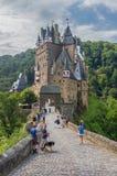 Il castello stupefacente di Eltz, Germania fotografia stock libera da diritti