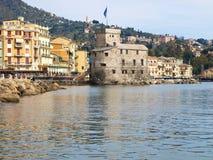 Il castello sul mare Fotografia Stock Libera da Diritti