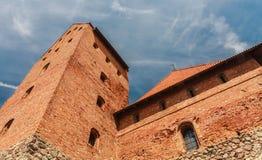Il castello sull'isola Trakai Fotografia Stock Libera da Diritti