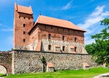Il castello sull'isola Trakai Fotografie Stock Libere da Diritti