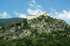 Il castello sulla roccia Fotografie Stock Libere da Diritti