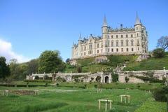 Il castello sulla scogliera fotografia stock libera da diritti