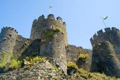 Il castello torreggiante Fotografia Stock Libera da Diritti