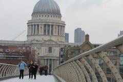 Il Catheral di St Paul a Londra Fotografia Stock Libera da Diritti