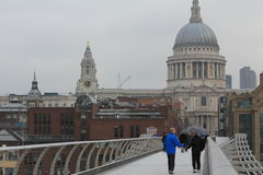 Il Catheral di St Paul a Londra Immagine Stock Libera da Diritti