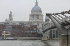 Il Catheral di St Paul a Londra Immagini Stock Libere da Diritti