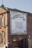 Il cattolico cade strada, Belfast, Irlanda del Nord Fotografia Stock Libera da Diritti