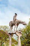 Il cavaliere ed il lago di Costanza Fotografia Stock