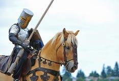 Il cavaliere montato prepara Fotografia Stock Libera da Diritti