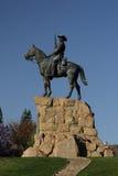 Il cavaliere a Windhoek Fotografia Stock