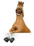 Il cavallo allegro Fotografie Stock Libere da Diritti
