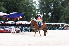 Il cavallo della spiaggia Fotografia Stock Libera da Diritti