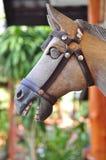 il cavallo fa da legno nella località di soggiorno Fotografia Stock Libera da Diritti