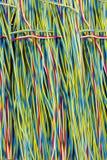 Il cavo di rame rimosso di energia elettrica Fotografia Stock