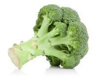 Il cavolo verde del broccolo ha isolato Fotografia Stock