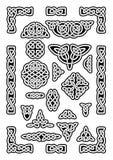 Il celtico annoda la raccolta Fotografia Stock Libera da Diritti