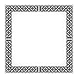 Il celtico annoda la struttura medievale di vettore in bianco e nero royalty illustrazione gratis